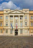 The Parliament Of Croatia Facade
