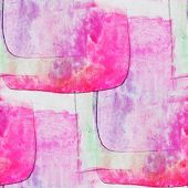 seamless cubism pink, green abstract art Picasso texture waterco