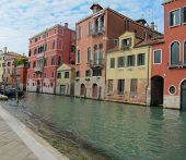 Tripping by the venetian channels.