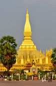 The buddhism golden Pagoda