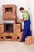 Mason Building A Masonry Heater