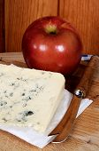 French blue cheese and apple.