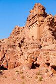foto of empty tomb  - Tombs in Petra - JPG