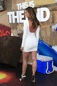 LOS ANGELES - 3 de junho: Charisma Carpenter na estréia da 'Este é o fim' Columbia Pictures' em t