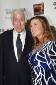 BEVERLY HILLS - MAY 7:Dick Van Dyke & wife arrives at The 12th Annual Golden Hearts Awards presented