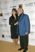 BEVERLY HILLS - MAY 7: Buzz Aldrin and wifearrives at The 12th Annual Golden Hearts Awards presented