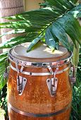 Caribbean style conga drum