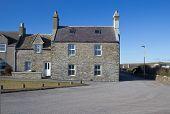 Traditional Scottish houses