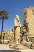Luxor, Karnak-Tempel In Ägypten