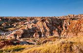 Canadian Landscape: The Badlands Of Drumheller, Alberta