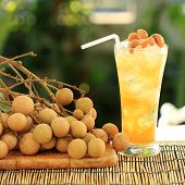 Longan Juice Cold Water