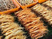 Ginseng sell in Korean market