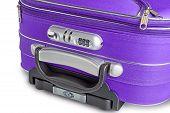 Suitcase Lock Detail