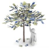 Money Growing On A Tree - Euros