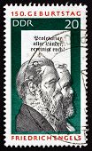 Postage Stamp Gdr 1970 Friedrich Engels And Karl Marx