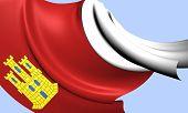 Bandeira de Castela-la Mancha