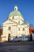 Sw Kazimierz Church, Warsaw, Poland