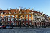 Townhouses Of New Town Market In Warsaw