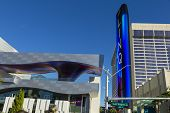 The Linq Entrance In Las Vegas, NV On January 04, 2014