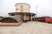 Bologoe, Russia - June 30, 2013: View Of Rail Terminal In Morning. Large Railway Junction On The Oct