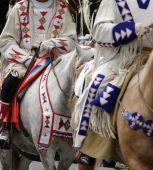 Detail, Beadwork Of Plains Indians