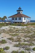 Port Boca Grande Lighthouse On Gasparilla Island, Florida Vertical