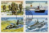 Sellos postales de las Islas Malvinas