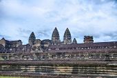 Pared de Angkor Wat