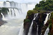 stock photo of cataracts  - Iguazu Falls - JPG