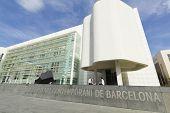 Macba Museum In Barcelona, Spain.