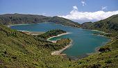 Lagoon of Fire (Lagoa do Fogo at Sao Miguel (Azores)