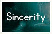 Sincerity Concept