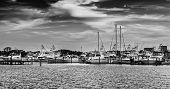 foto of gulf mexico  - Popular marina in Destin Florida on the Gulf of Mexico - JPG