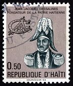 Postage Stamp Haiti 1977 Jean-jacques Dessalines