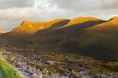 Nantlle Ridge, Snowdonia, At Dusk, Landscape