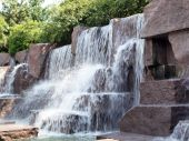 Fdr Memorial Waterfall Fountain
