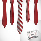 necktie vector background