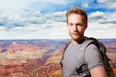Grand Canyon Travel Young Man
