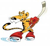 Постер, плакат: Хоккей Тигре