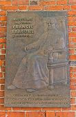 Memorial Plaque Of Priest Francis Trasuns