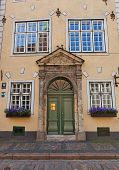 Second House (1646) Of Three Brothers Building Complex In Riga, Latvia