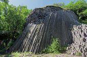 Basaltic Pentagonal Columns - Geological Formation Of Volcanic Origin