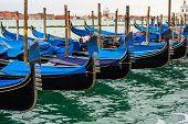Rows Of Gondolas