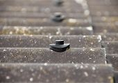 Screw Protection Stud On Asbestos Roof
