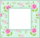 Frame Illustration with a Shabby Chic Theme