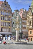 Wroclaw, Cityscape. Pillory