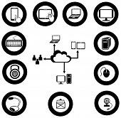 Various It And Network Media Icon And App Collection Set 2