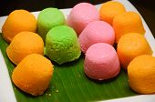 image of malay  - Malay colourful traditional dessert  - JPG