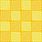 Abstract geometric seamless background. Seamless wavy pattern. Checkered texture 3d background. Can