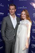 LOS ANGELES - JUN 7:  James VanDerBeek, Kimberly Brook at the 13th Annual Chrysalis Butterfly Ball a